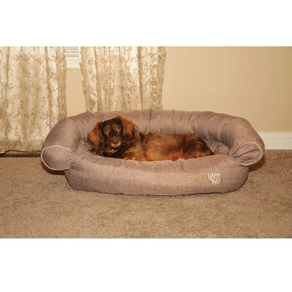 Luxury Sofa Pet Bed Happy Tails CW Pet Beds