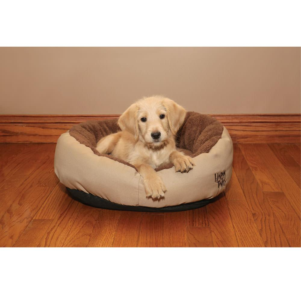 Happy Tails Snuggle Dog Bed