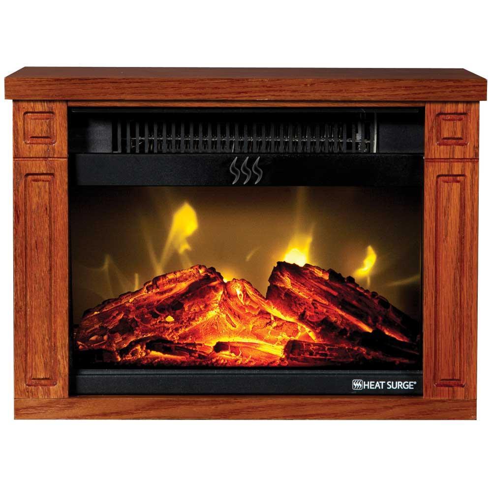 Heat Surge Mini Glo Fireplace Heater Edenpure 30000488