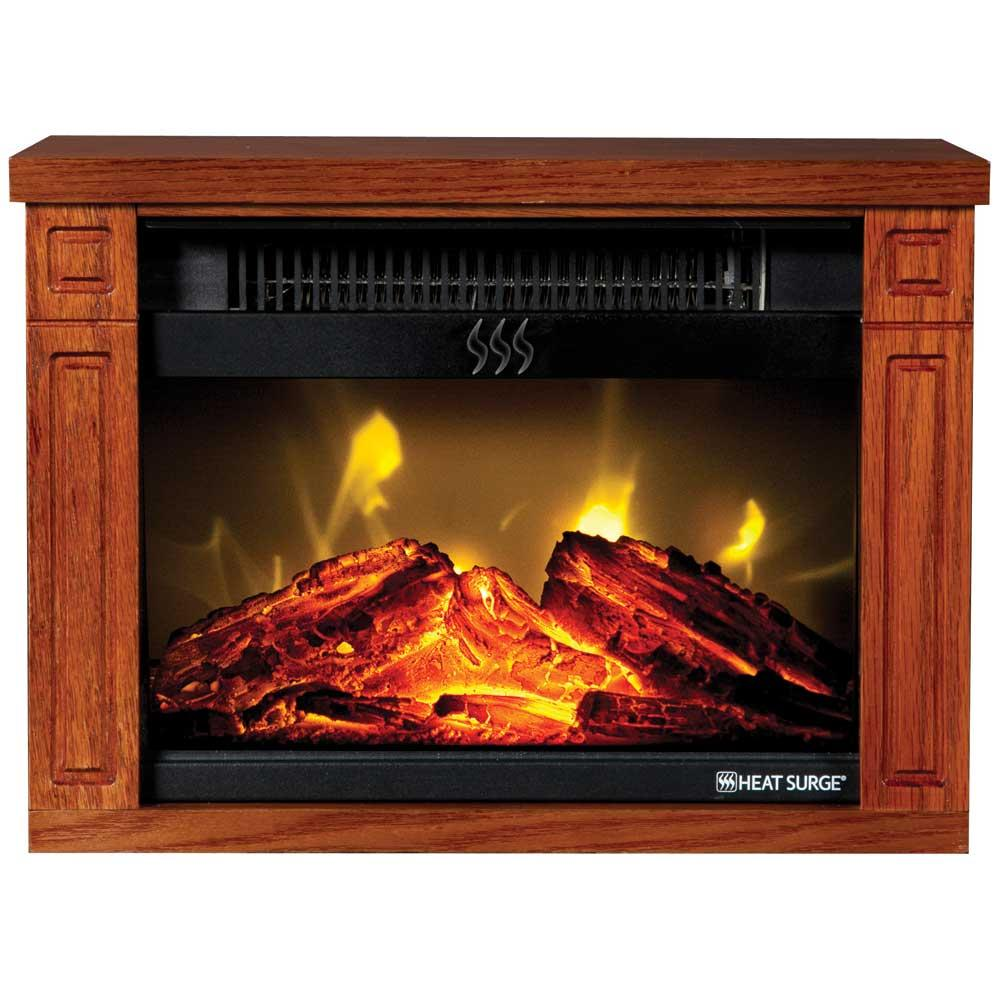 Heat Surge Mini Glo Fireplace Heater Edenpure 30000488 Electric Fireplaces Camping World