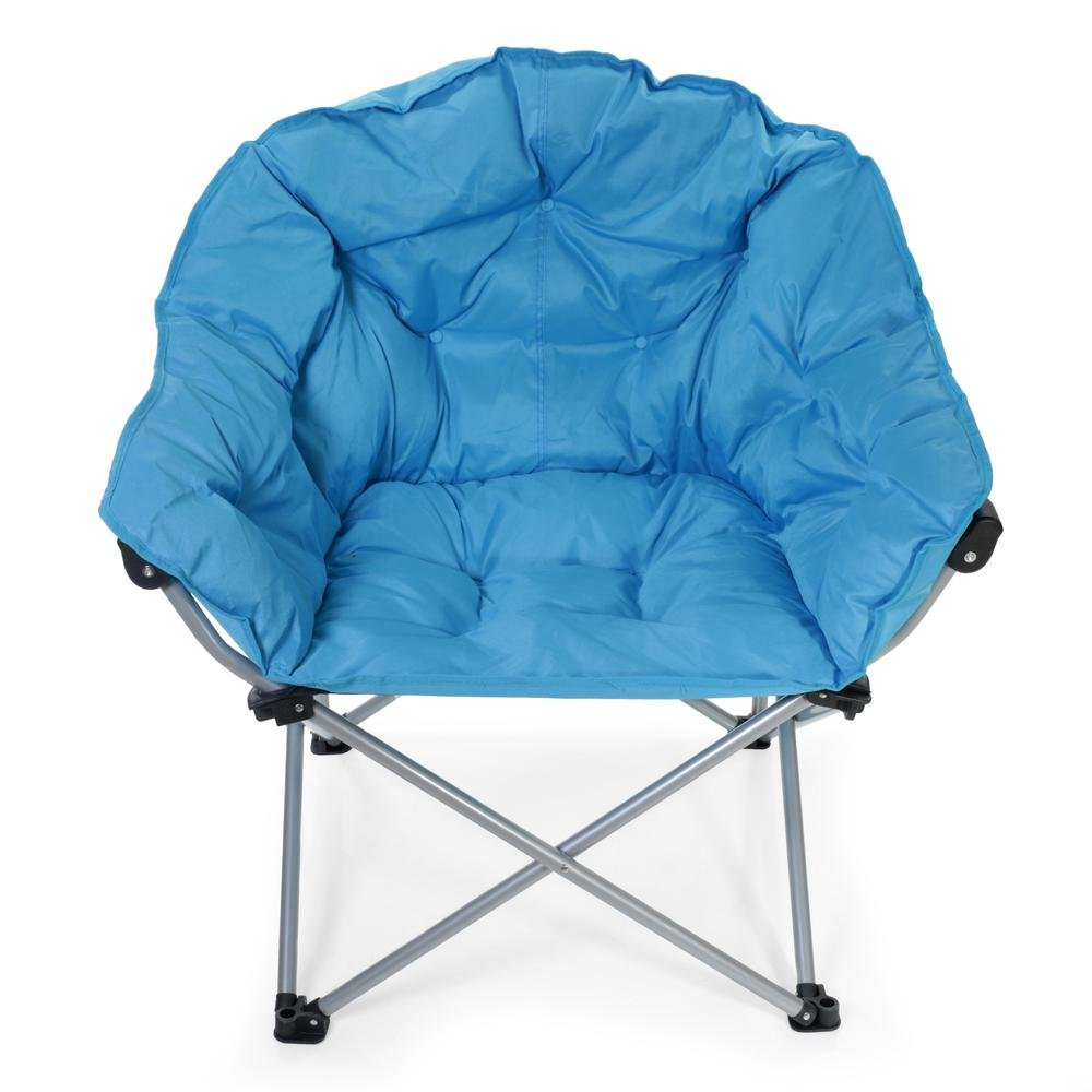 Comfortable Outdoor Chair Blue Club Chair - Mac Sports C932S-110 - Folding Chairs ...