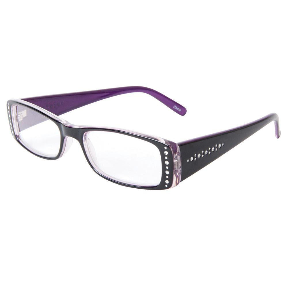 Glasses Frames With Bling : Ladies Bling Reading Glasses, +175 - Icon Eyewear CW74684 ...