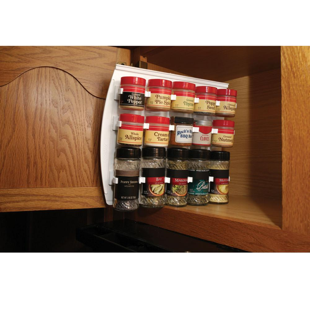 Large Sliding Cabinet Spice Rack