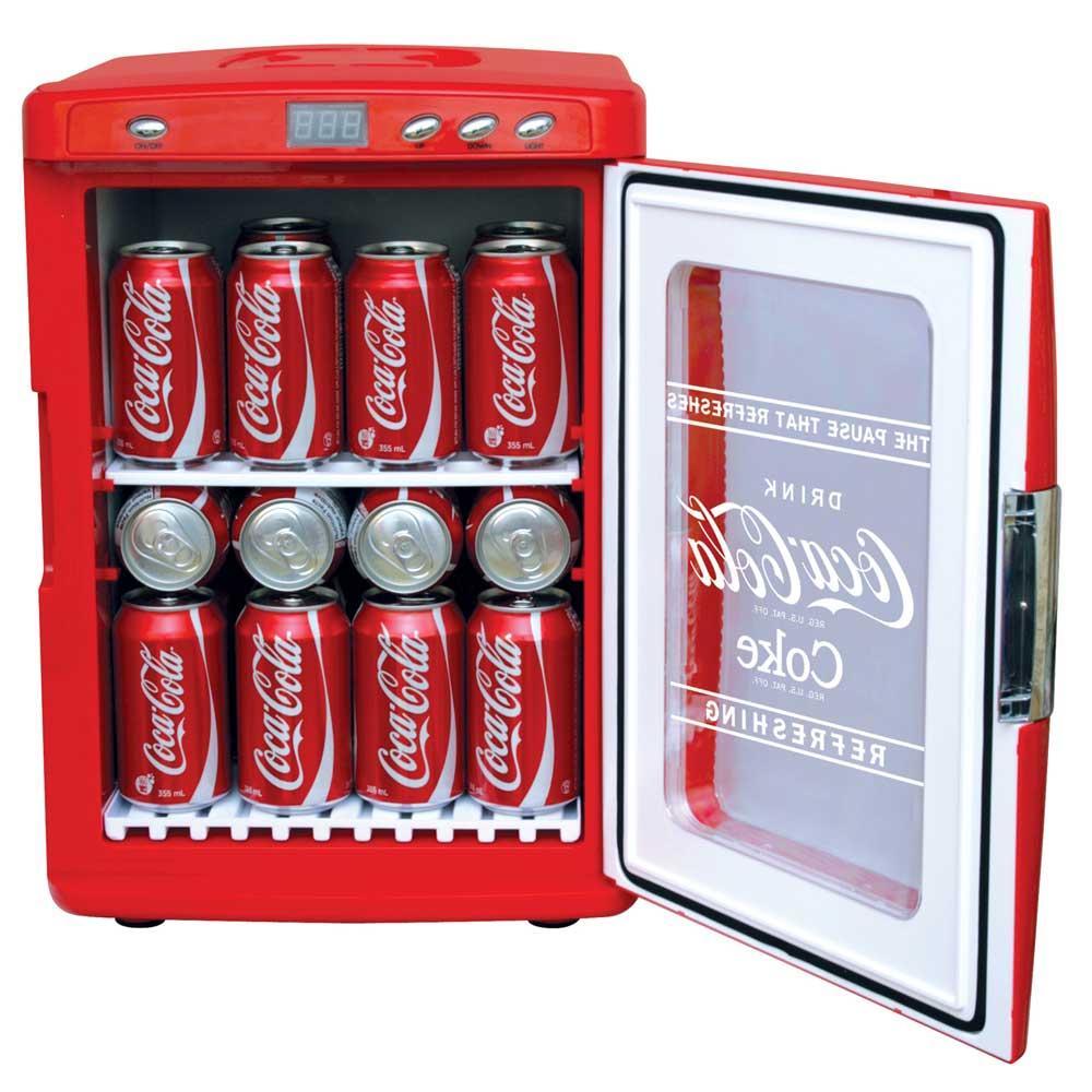 Coca Cola Display Cooler 28 Can Capacity Koolatron