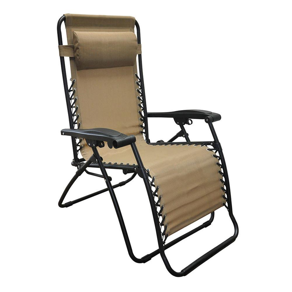 Oversized Zero Gravity Recliner, Beige ...