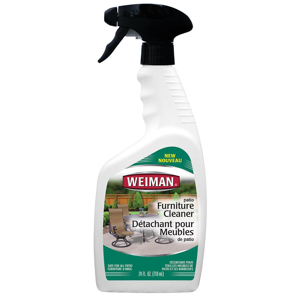 Weiman patio furniture cleaner 24 oz weiman 116c for Outdoor furniture cleaner