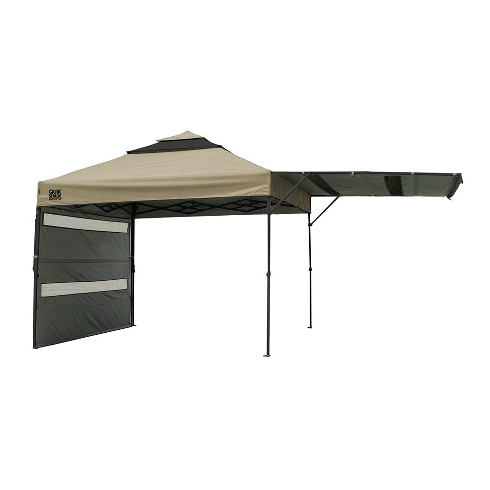Instant Shade Canopy : Quik shade summit sx instant canopy taupe bravo