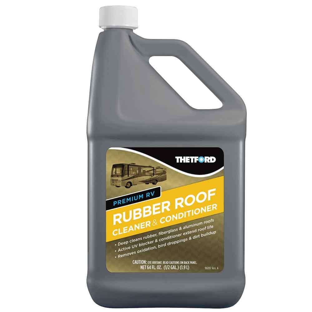 Rv Roof Cleaner : Rubber roof cleaner conditioner oz thetford