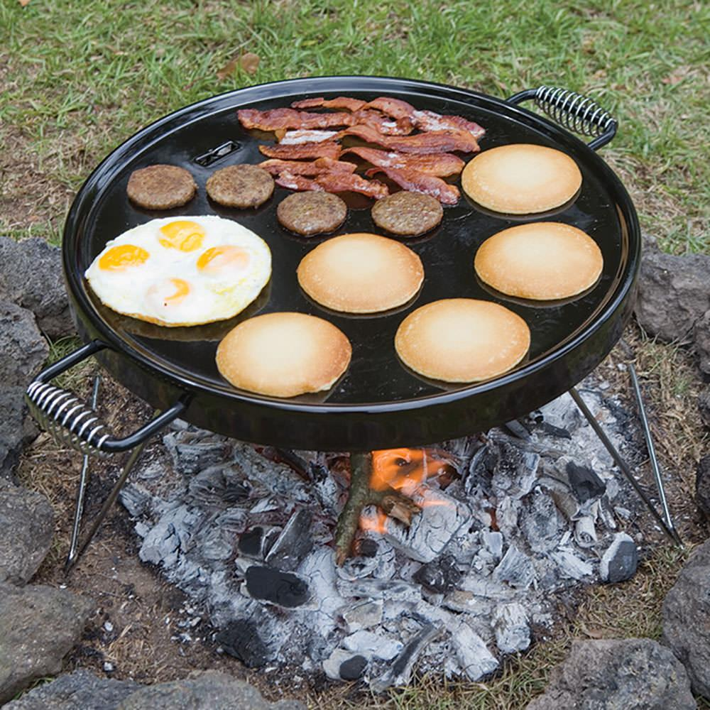 Campfire griddle grill bayou classic 500 428 camp for Cuisine outdoor