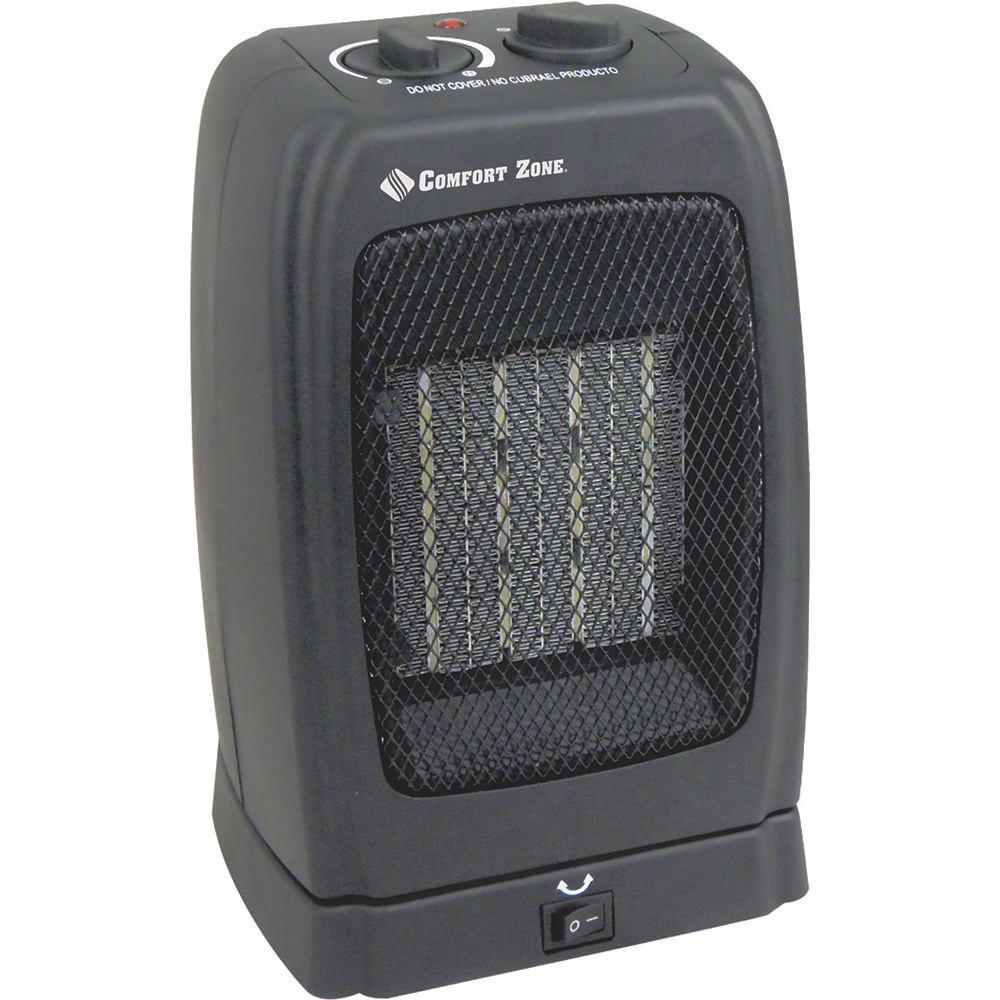 Comfort Zone Oscillating Ceramic Heater Howard Berger