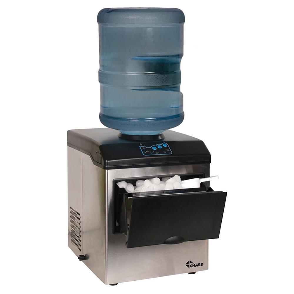 Stainless steel ice maker and water dispenser chard Ice maker maker