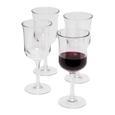 Acrylic Wine Glasses – Set of 4