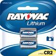 CR2 Lithium Photo Battery, 3 Volt, 2 Pack