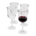 Acrylic Wine Glasses Set of 4