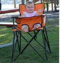Baby Go-Anywhere-Highchair, Orange