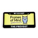 License Plate - My Ex got the Prevost