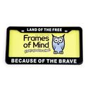 License Plate - Land of the Free