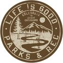 Life Is Good Sticker, Parks and Rec