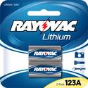 RL123A Lithium Photo Battery, 3 Volt, 2 Pack