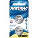 CR2032 Lithium Battery, 3 Volt, 2 Pack