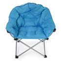 Blue Club Chair