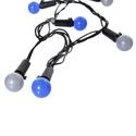 Silver Blue 110-volt AC Powered Gumball Lights