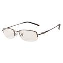 Mens Gunmetal Reading Glasses, 125