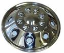 Namsco Stainless Steel Wheel Cover, Single - 19.5