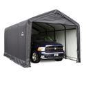 ShelterTUBE Storage Shelter 12 x 20 x 11 Gray Cover