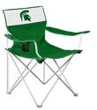 MI State Canvas Chair
