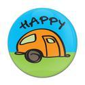 Magnetic GoBadge, Happy Camper