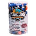 Mini Globe Orange and Dark Blue Battery Powered LED Light Strand