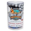 Mini Globe Medium Blue and Silver Battery Powered LED Light Strand