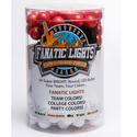 Mini Globe Red and White AC Powered LED Light Strand