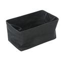 Shallow Storage Tote, Small - Charcoal