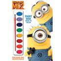 Despicable Me 2-Paint Box Coloring Book