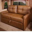 Tri-Fold Sleeper Sofa, Brookwood Tobacco, 68