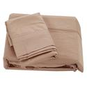King 300 Thread Count Sheet Set, Taupe
