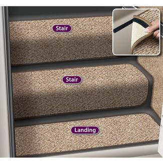 Decorian Step Hugger Landing Rug, 8