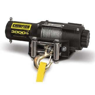 Champion 3,000 lb. ATV and UTV Power Winch