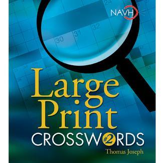 Large Print Crosswords # 2