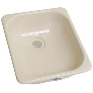 13&quot&#x3b; x 15&quot&#x3b; Kitchen Sink - Parchment