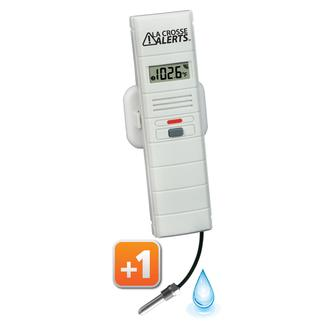Add-onTemperature & Humidity Sensor for LaCrosse Alerts System with Threaded Wet Probe
