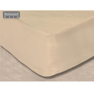 "All-In-One Mattress Protector and Fitted Sheet, Dinette XL, 45"" x 82"" - Fawn Beige"