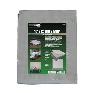 10' x 12' Grey Tarp