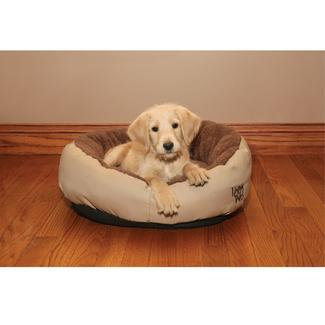 Khaki Cuddler Pet Bed