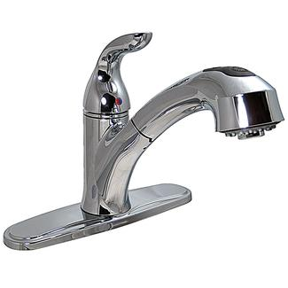 """8"""" Pull-out Kitchen Faucet, Chrome"""