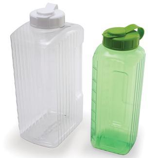 Clar View Refrigerator Bottles, 2 qt.