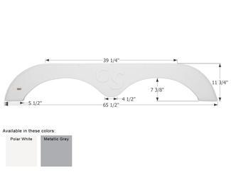Forest River Grand Surveyor Fender Skirt FS1973 - Metallic Grey