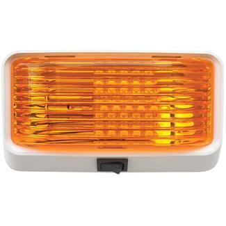 LED Porch Light - Amber Lens